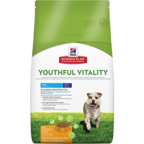 Hill's™ Science Plan™ Canine Mature Adult 7+ Youthful Vitality™ MINI Chicken&Rice