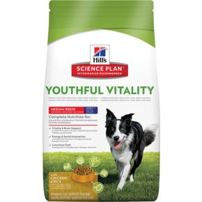 Hill's™ Science Plan™ Canine Mature Adult 7+ Youthful Vitality™ Medium Chicken&Rice