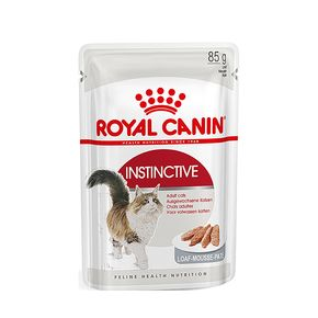 ROYAL CANIN INSTINCTIVE LOAF 85 гр. ( ПАШТЕТ) Корм влажный для кошек