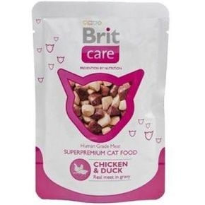 Brit Care Chicken&Duck 80 гр. паучи
