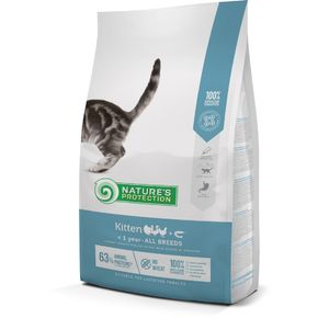 Natures Protection NP SP Kitten Poultry with krill Корм для котят до 1 года