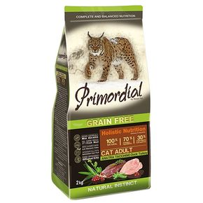 Primordial Holistic Grain Free Adult Duck & Turkey