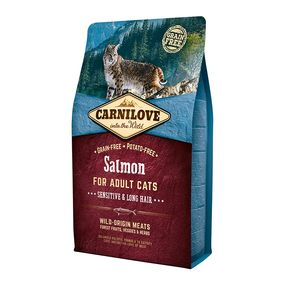 Carnilove Salmon for Adult Cats - Sensitive & Long Hair