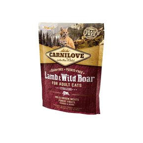 Carnilove Lamb & Wild Boar for Adult Cats-Sterilised