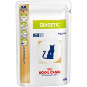 ROYAL CANIN Diabetic Feline- 100 гр Диета для кошек страдающих сахарным диабетом