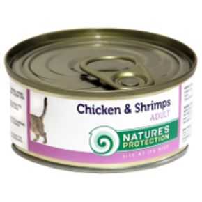 Natures Protection Сat Chicken&Shrimps