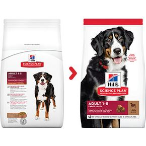 Hill's Science Plan Canine ADULT LARGE BREEDLarge Breed with LAMB & Rice - для крупных пород с ягненком и рисом